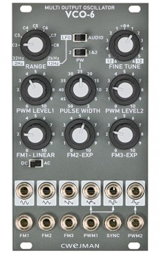 Cwejman VCO-6 Multi Output Oscillator