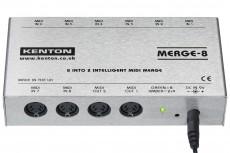 Kenton Merge 8 – 8 MIDI IN to 2 OUT