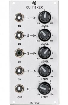 Analogue Systems RS-160 CV Mixer (Dual Bus)