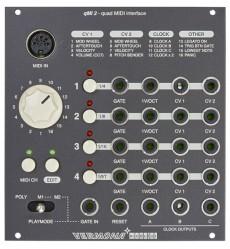 Vermona Modular qMI 2 – Quad MIDI Interface
