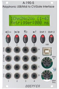 Doepfer A-190-5 Polyphonic USB/Midi-to-CV/Gate Interface