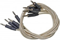 CablePuppy cable 15 cm (5 Pack) white-gold
