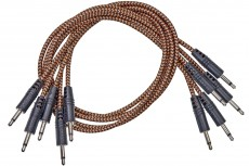 CablePuppy cable 30 cm (5 Pack) black-brown