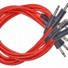 CablePuppy cable 30 cm (5 Pack) red