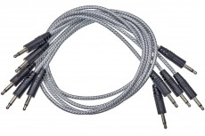 CablePuppy cable 120 cm (5 Pack) white-silver