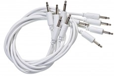 Black Market Modular Patch Cable 5-pack 100 cm white