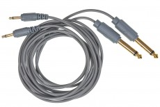 Verbos Adapter Cable 150cm (2-Pack), grey