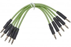 CablePuppy cable 15 cm (5 Pack) silver-green