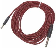 CablePuppy 500 cm adapter cable 3.5 -> 6,3mm red-black
