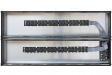 eowave 6U Black 2 x 104HP incl. PSU